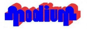 Logo modium